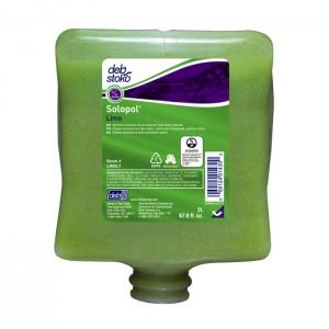 Savon à mains contre les salissures moyennes à fortes Solopol Lime