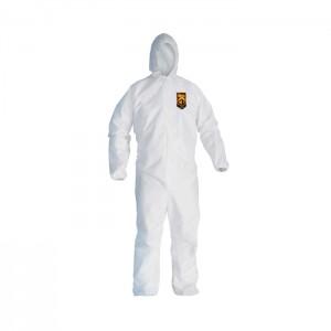 Habit de protection blanc KleenGuard A20 avec capuchon