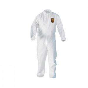 Habit de protection blanc KleenGuard A20 avec bande élastique