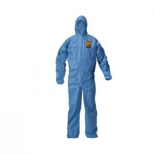 Habit de protection bleu KleenGuard A20 avec capuchon