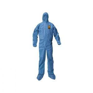 Habit de protection bleu KleenGuard A20 avec bottes et capuchon