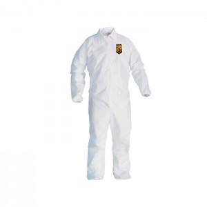 Habit de protection blanc KleenGuard A40 avec bande élastique