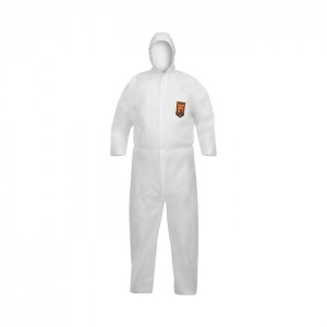 Habit de protection blanc KleenGuard A40 Reflex avec capuchon