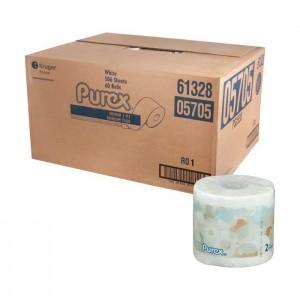 Papier hygiénique standard 2 épaisseurs Purex 05705