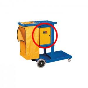 Cabinet verrouillable pour chariot de ménage