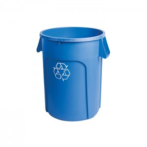 Poubelle ronde pour recyclage 20gal
