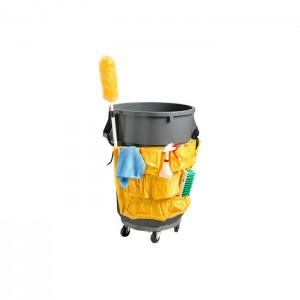 Sac porte-accessoireS pour poubelle ronde
