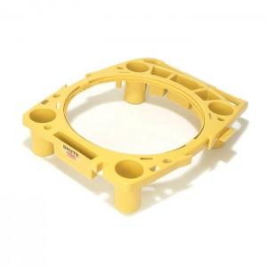 Porte-accessoires pour poubelle ronde Brute