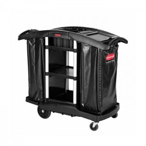 Chariot de ménage avec 2 sacs en vinyle