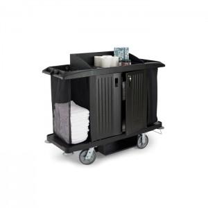 Chariot de ménage avec 2 sacs grande capacité