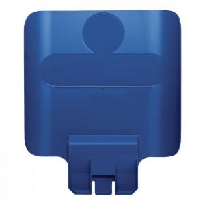 Panneau d'identification pour station de recyclage Slim Jim bleu