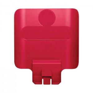 Panneau d'identification pour station de recyclage Slim Jim rouge