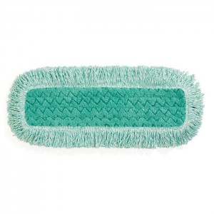 Tampon sec en microfibre Hygen avec franges 18''
