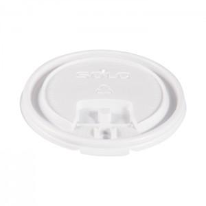 Couvercle plat à languette en plastique LB3101