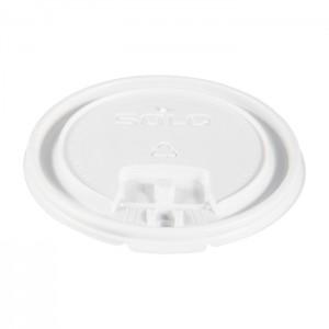 Couvercle plat à languette en plastique LB3161